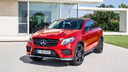 GLE Coupé by Mercedes-Benz in Jurassic World
