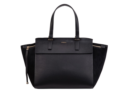Onyx Tote Bag by Furla Dolce Vita in The Good Wife - Season 7 Episode 22