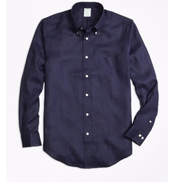 Milano Irish Linen Sport Shirt by Brooks Brothers in Fuller House