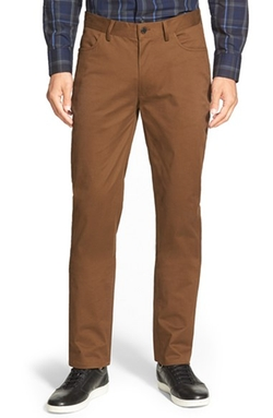 'Core' Slim Fit Five Pocket Chino Pants by Vince Camuto in Inherent Vice