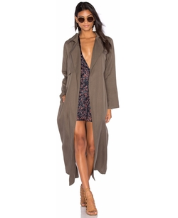 Bleeker Duster Trench Coat by Capulet in Keeping Up With The Kardashians