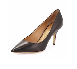 Susi Leather Point-Toe Pumps by Salvatore Ferragamo in How To Get Away With Murder