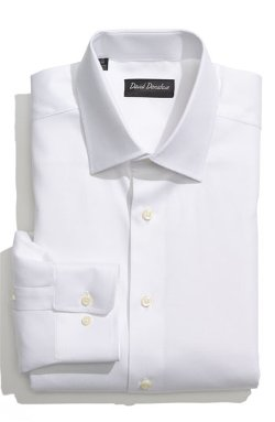 Royal Oxford Regular Fit Dress Shirt by David Donahue in Her