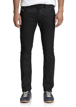 Thavar Skinny Jogger Pants by Diesel in Entourage