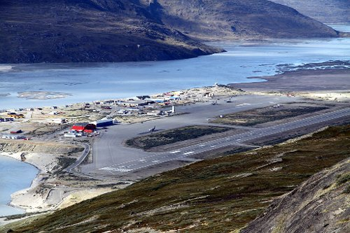 Kangerlussuaq Airport Qeqqata, Greenland in The Secret Life of Walter Mitty