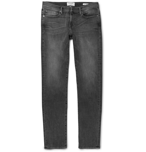 Petit Standard Slim-Fit Washed-Denim Jeans by A.P.C. in We Are Your Friends