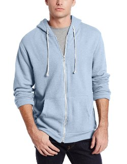 Triblend Hoodie Jacket by Threads 4 Thought in McFarland, USA