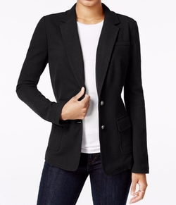 Two Button Blazer by Maison Jules in Rosewood