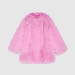 Fox Fur Coat by Gucci in Empire