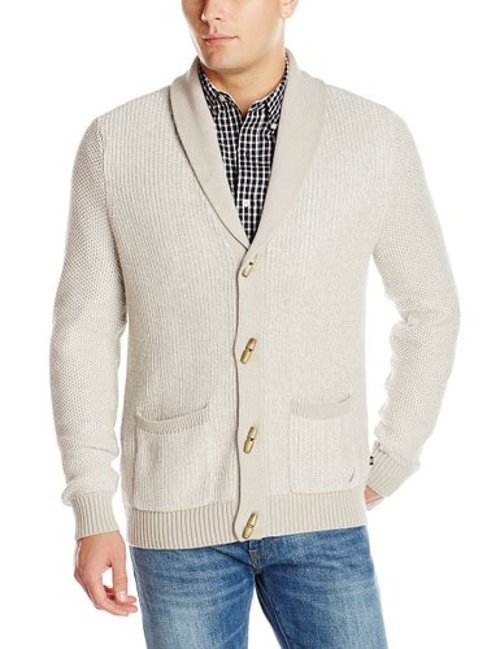 Men's Toggle Cardigan by Nautica in Her