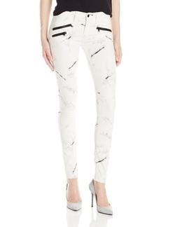 Women's Billie Zipper Skinny Jeans by Black Orchid in Pretty Little Liars