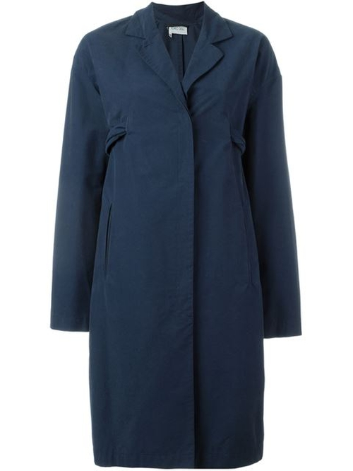 Back Belt Coat by Romeo Gigli Vintage in The Good Wife