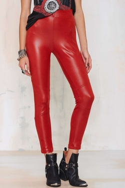 Slither Factor Moto Pants by Nasty Gal in Jem and the Holograms