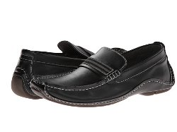 Rollit Classic Moc Loafer by Steve Madden in Blackhat