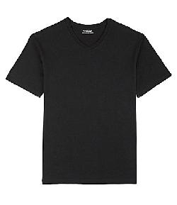 Solid V-Neck Tee Shirt by Roundtree & Yorke in The Great Gatsby