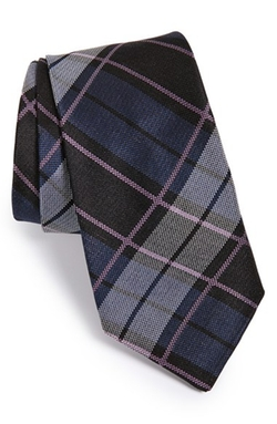 'Vintage Plaid' Silk Tie by John Varvatos Star USA in Nashville