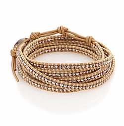 Beaded Wrap Bracelet by Chan Luu in The Shallows