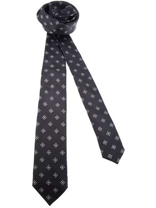 Contrast Print Tie by Dolce & Gabbana in Bridge of Spies