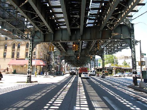 Broadway Avenue, Brooklyn New York City, New York in The Great Gatsby