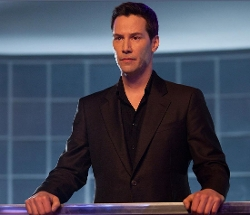 Made to Measure Classic Black Suit by Giorgio Armani in Man of Tai Chi