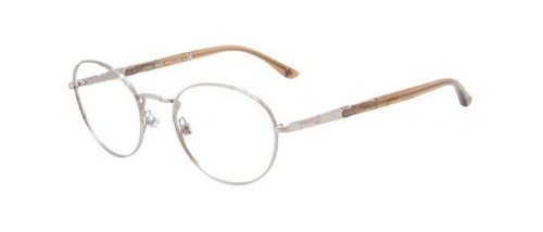 Matte Chrome Optical Eye Glasses by Giorgio Armani in The Gunman