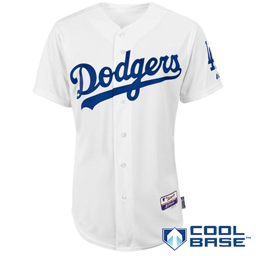 Los Angeles Dodgers Authentic Home Jersey by MLB in Straight Outta Compton