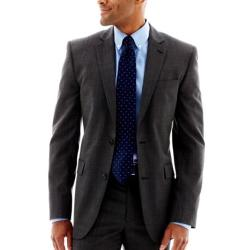 Charcoal Wool Nailhead Sport Coat by JOE Joseph Abboud in Get On Up