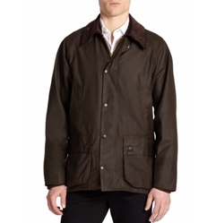 Beaufort Waxed Jacket by Barbour in Joshy