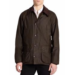 Beaufort Waxed Jacket by Barbour in Joshy