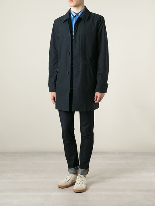 Single Breasted Coat by Burberry Brit in Survivor