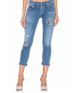 Emerson Slim Ankle Boyfriend Jeans by Citizens Of Humanity in Jessica Jones