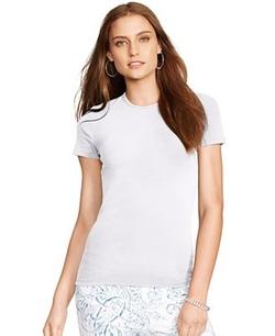 Crew-Neck T-Shirt by Lauren Ralph Lauren in Clueless