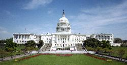 Capitol Hill, Washington, D.C. by United States Capitol in X-Men: Days of Future Past