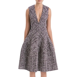 Sleeveless Tweed Dress by J. Mendel in Suits