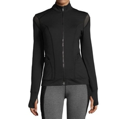 Illusion Performance Jacket with Mesh Trim by Michi in Billions
