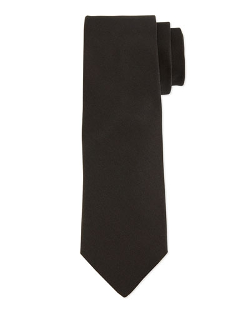 Grosgrain Solid Tie by Lanvin	 in The Gift