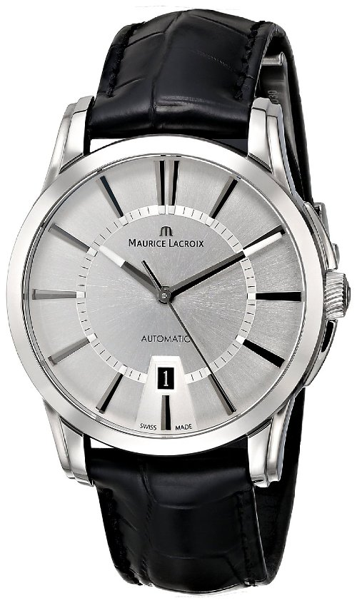 Pontos Analog Swiss Automatic Watch by Maurice Lacroix in The Counselor