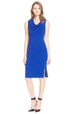 Cowl Neck Sheath Dress by Milly in Arrow