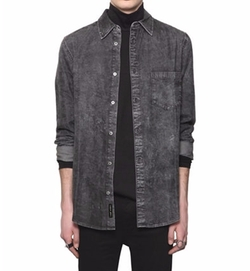 Washed Light Cotton Denim Shirt by Cheap Monday   in Lethal Weapon