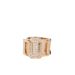 Elizabeth Crystal Multi-Stone Ring by Rebecca in Dope