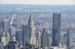 New York City, New York by Chrysler Building in Hands of Stone