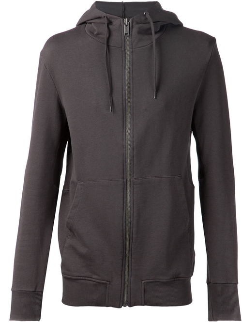 Zipped Hoodie by Silent Damir Doma in Ballers