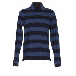 Stripe Polo Shirt by Aspesi in Master of None
