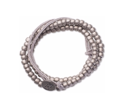 Wrap Around Pewter Bracelet by 100 Good Deeds in Suicide Squad