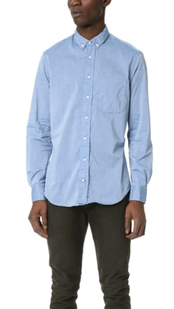 Chambray Oxford Shirt by Gitman Vintage in Brooklyn Nine-Nine