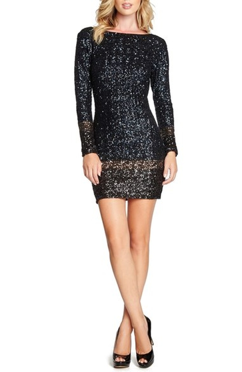 'Patricia' Open Back Sequin Minidress by Dress The Population in The Bachelorette - Season 12 Looks