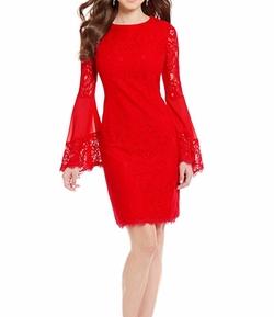 Dakota Lace Bell Sleeve Dress by Antonio Melani in Pitch Perfect 3