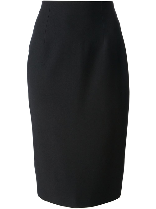 High Waist Pencil Skirt by Alexander Mcqueen in The Other Woman