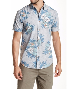 Hibiscus Premium Fit Shirt by Globe in New Girl