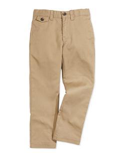 Boys' Lightweight Chino Pants by Ralph Lauren Childrenswear in Addicted